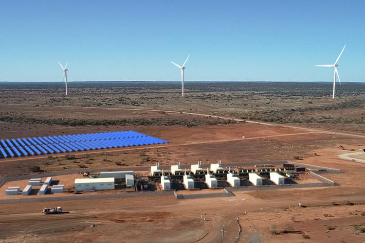 $123m for minesite microgrids