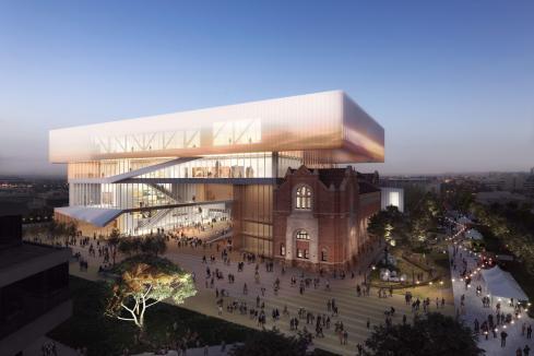 New museum design unveiled