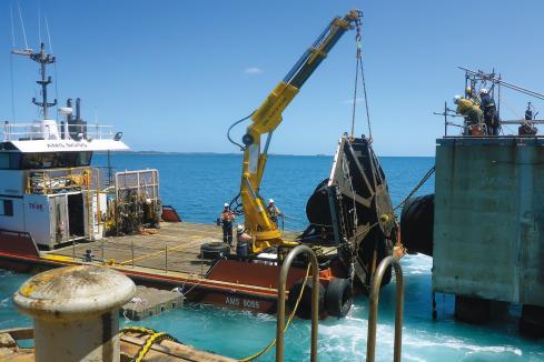 Oil price albatross weighs on marine logistics players