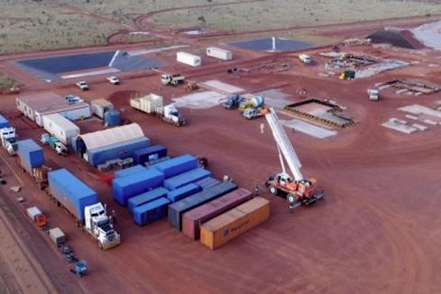 Browns Range heavy rare earths mine build in full swing