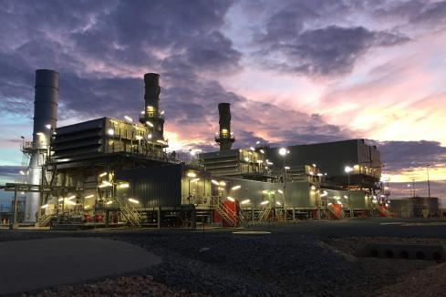 TransAlta power station offically opened