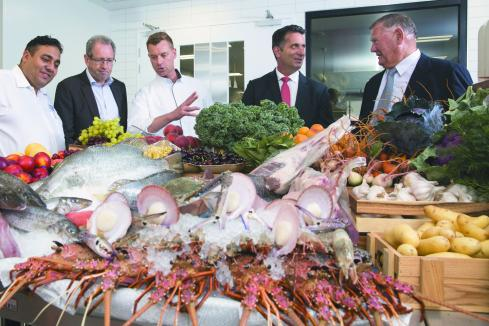 Local producers secure supplier deals at stadium