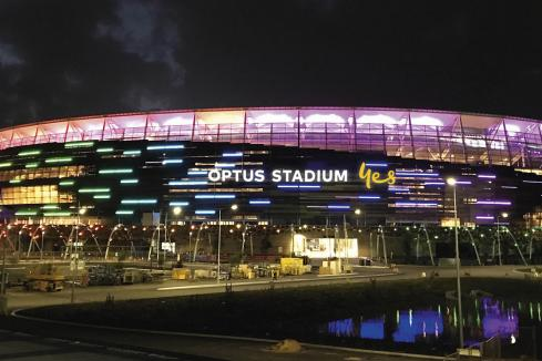Crocmedia named Optus Stadium partner