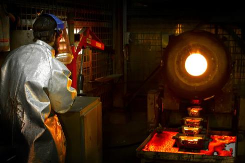 Gold miners steady on quarterly results