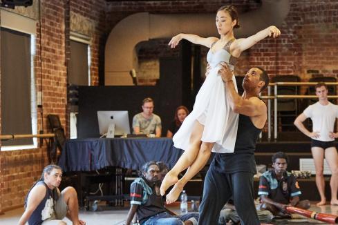 Ballet dances Dreamtime