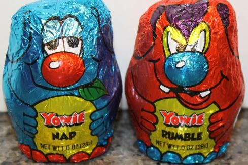 Yowie tumbles on US competition
