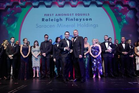 Miner wins gold at 2018 40under40 awards