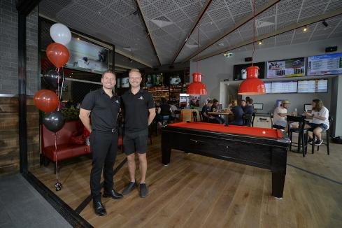 Sports bar brings the world to WA