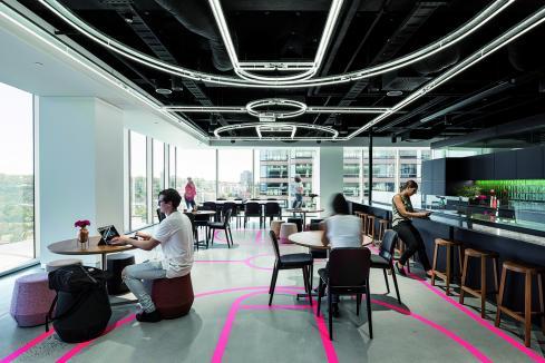 Flexibility shapes office vibe