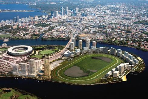 Golden Group starts work at Belmont Park
