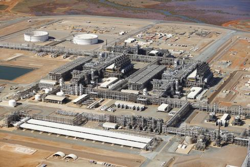 Final LNG train in action at Wheatsone