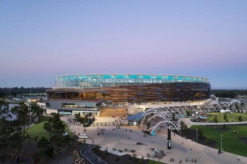 Optus Stadium takes design honours