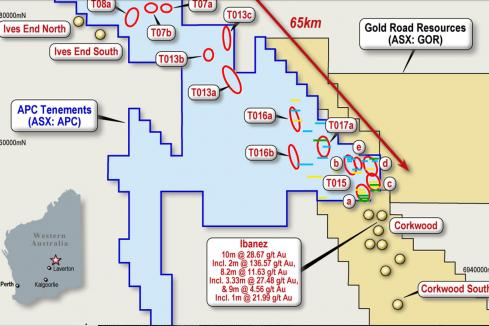 Australian Potash goes for gold at Yamarna