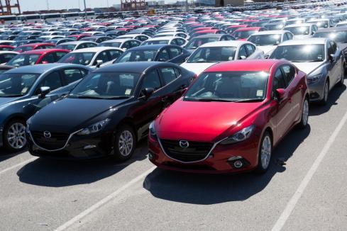 Car sales down in June