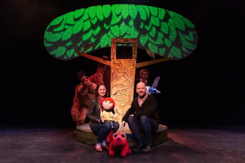 Passing on the magic of puppetry