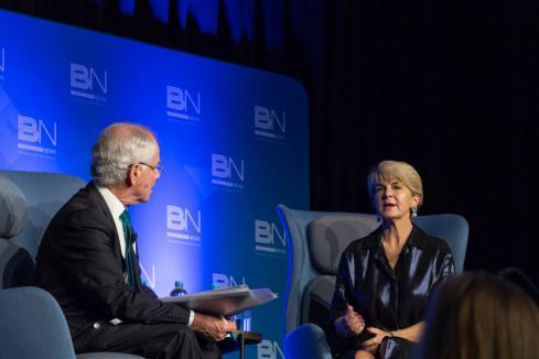 Julie Bishop on leadership, women and her future