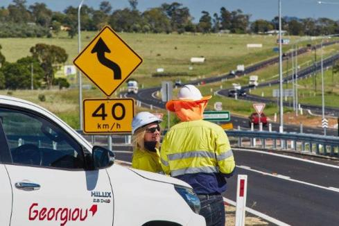 Georgiou wins $67m highway project