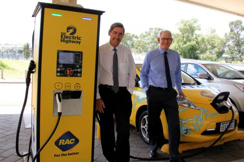 RAC invests in $15m EV chargers