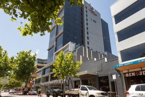 Hilton hotel opening nears