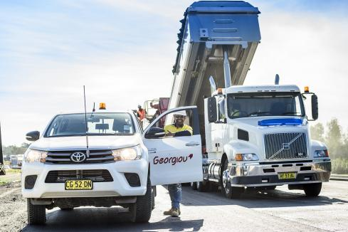 Georgiou awarded NSW road contract