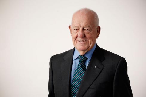 Burston retires aged 83