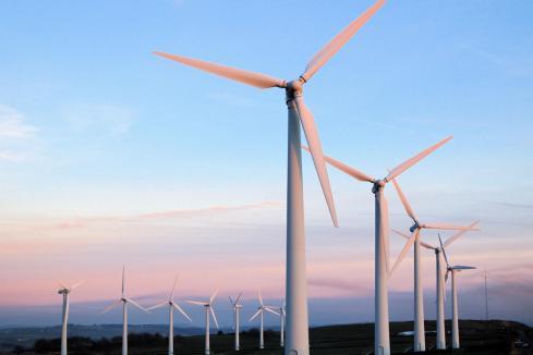 APA's Badgingarra wind farm producing power