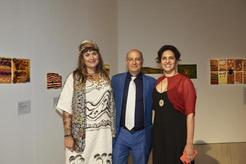 Kimberley art pays off for artists, Rio