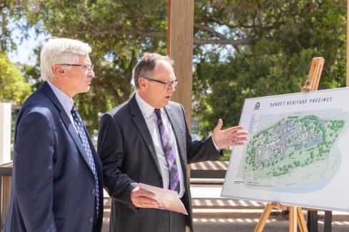 Sunset to become cultural precinct
