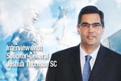 Law Society #LawMatters: Solicitor-General Joshua Thomson SC on his new role, technology and challenges for the legal profession