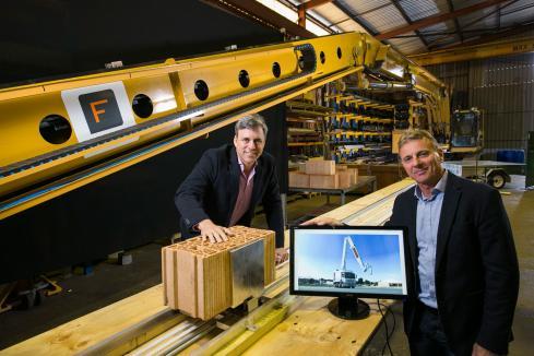 FBR shares up 20% on Brickworks JV