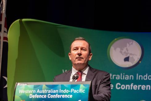 McGowan lobbying on submarine maintenance