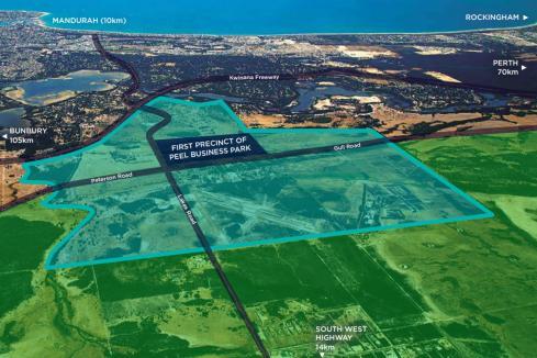Australia-first solar solution for Peel industrial estate
