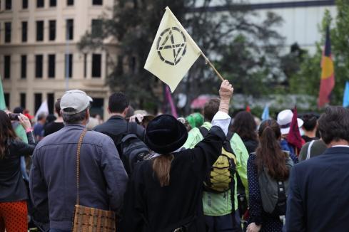 Climate protesters shut down Perth CBD