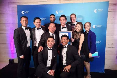 Unios wins Telstra business award
