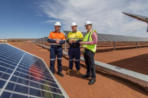 $112m renewables project hits milestone
