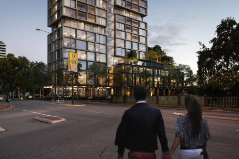 Smaller South Perth towers head back to JDAP