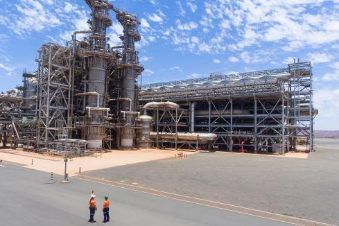 LNG trucking for Strandline power