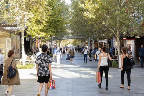 CBD retail improving, not booming