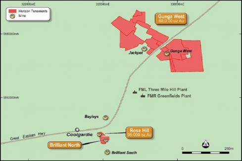 New Coolgardie gold project hits grade for Horizon