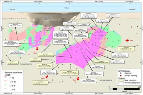 Spectrum prepares for more drilling at high-grade Penny West