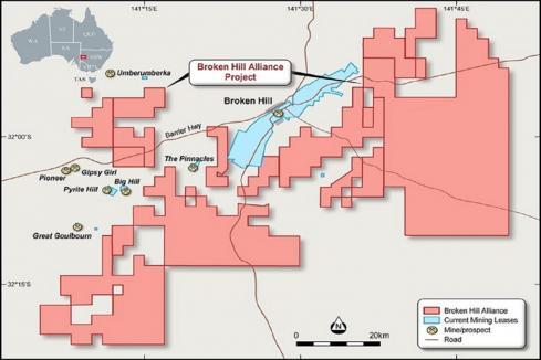 Impact Minerals forms Broken Hill Alliance