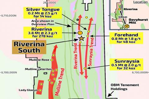 Ora Banda lights up southern extension of Riverina gold deposit