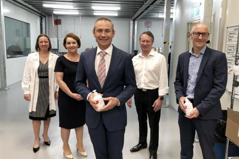 WA manufacturer wins sanitiser contract