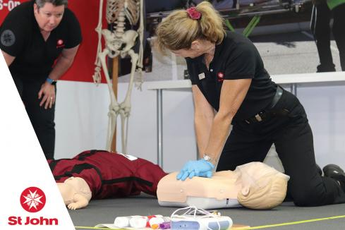 St John offers COVID-19 Safe first aid training