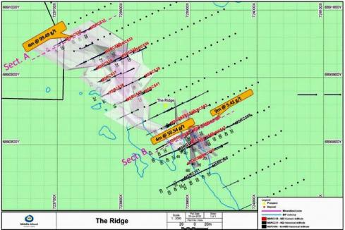 More uber-high grades for Middle Island at Sandstone