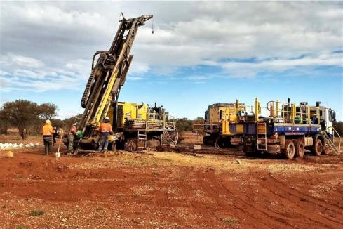 Drilling underway at Smokebush for Terrain