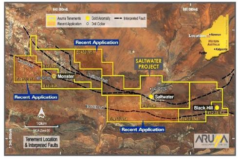 Aruma snaps up more ground in Pilbara gold hunt