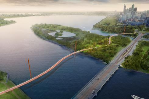 New $50m Swan River bridge