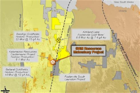 Novo extends control of Victorian goldfield