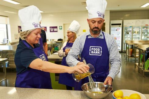 WA leaders cook for the vulnerable